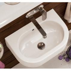 Flaminia Pass lavabo sospeso o da appoggio cm 45x31