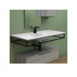 Flaminia Bloom 120 wall hung MATT WHITE consolle basin