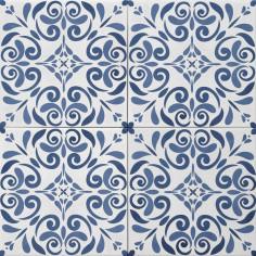 Tonalite Aquarel decoro vega blu 15x15