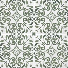 Tonalite Aquarel decoro vega verde 15x15