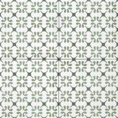 Tonalite Aquarel decoro polaris verde 15x15