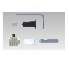 Fixing kit for wall mounted wc and bidet WB9 B LV