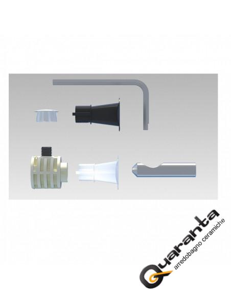Kit di fissaggio per sanitari sospesi WB9 B LV