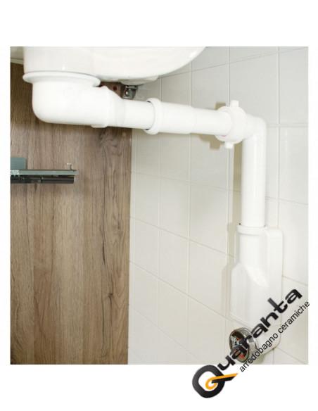 Fantini AF/21 Miscelatore lavabo monoforo cromo con cartuccia progressiva