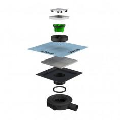 Bonomini sistema di scarico da pavimento 69250IX10S7