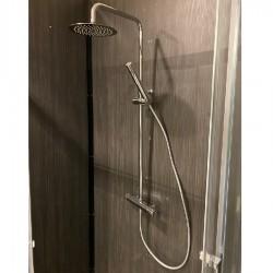 Paini colonna doccia termostatica tonda