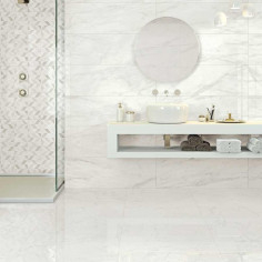 Marazzi Marbleplay Wall Calacatta Rettificato 30x90