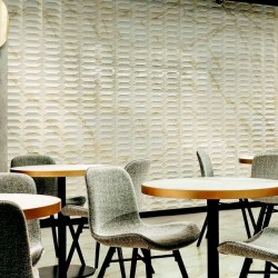 Marazzi Marbleplay Wall Ivory Struttura Gem 3D 30x90