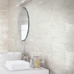 Marazzi Marbleplay Wall Calacatta Struttura Mikado 3D 30x90