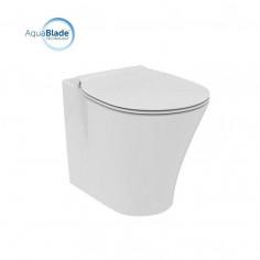 Ideal Standard Connect Air vaso filo muro AquaBlade e coprivaso a chiusura rallentata