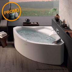 Jacuzzi Whirlpool Tub Essential Uma 130/145 x 130/145 x 60H