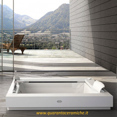 Jacuzzi Aura Plus Corian vasca idromassaggio