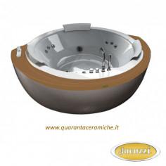 Jacuzzi Nova Corner Wood vasca idromassaggio
