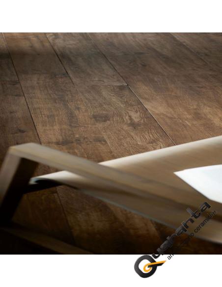 marazzi treverkhome castagno gres porcellanato effetto legno