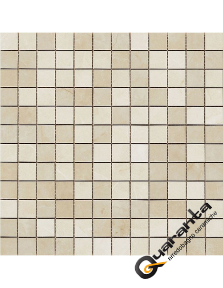 Marazzi Evolutionmarble mosaico golden cream 32.5x32.5