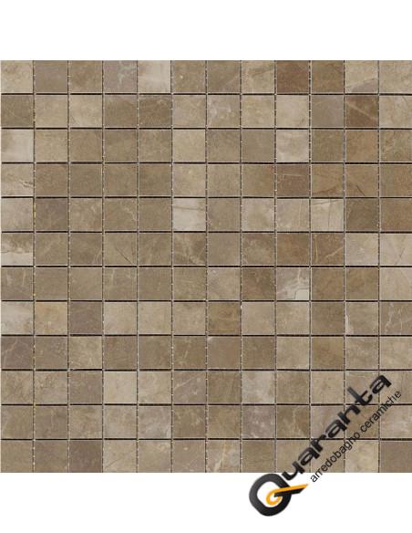 Marazzi Evolutionmarble mosaico bronzo amani 32.5x32.5