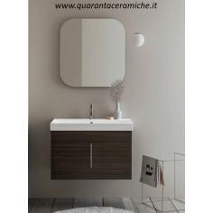 Arbi Home mobile bagno legno magma L80xP45 cm