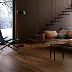 Treverkchic Noce Italiano 15x120 gres porcellanato effetto legno colorato in massa