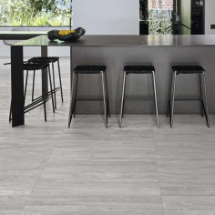 Marazzi Marbleplay Travertino Grigio Lucido 58x58