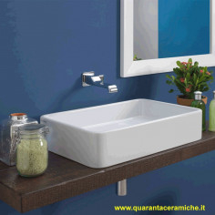 Flaminia Miniwash lavabo sospeso o da appoggio cm 60