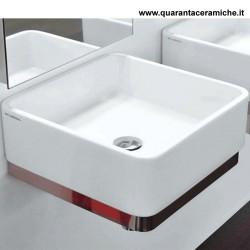 Flaminia Miniwash lavabo sospeso o da appoggio cm 40