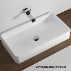 Flaminia Miniwash lavabo sospeso o da appoggio cm 75