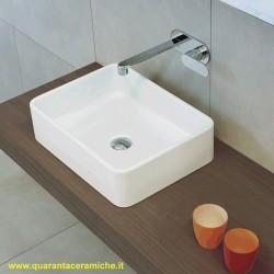 Flaminia Acquagrande lavabo sospeso o da appoggio cm 60