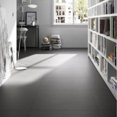 marazzi block black 90x90 effetto cemento