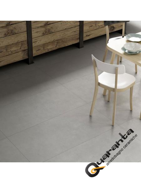 marazzi-block-silver 90x90 effetto cemento