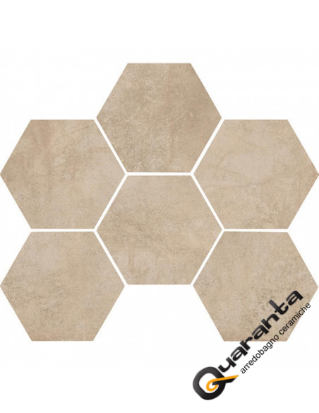 marazzi clays-sand-cementine esagonali