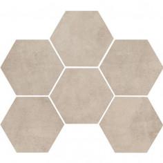 marazzi-clays-shell-cementine esagonali