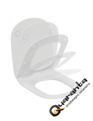 Ideal Standard Tesi Coprivaso Rallentato Bianco