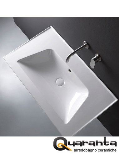 Flaminia Bloom 85 lavabo a consolle...