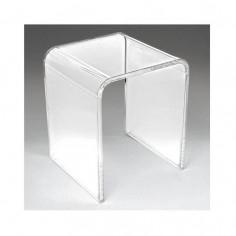 Sgabello ad U per doccia in plexiglas trasparente Kinedo - Grandform