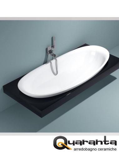 Mensola per vasca in Pietraluce IO84
