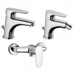 Paini kit Smart miscelatore lavabo, bidet e doccia esterno