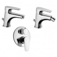 Paini Smart miscelatore lavabo bidet doccia incasso con deviatore