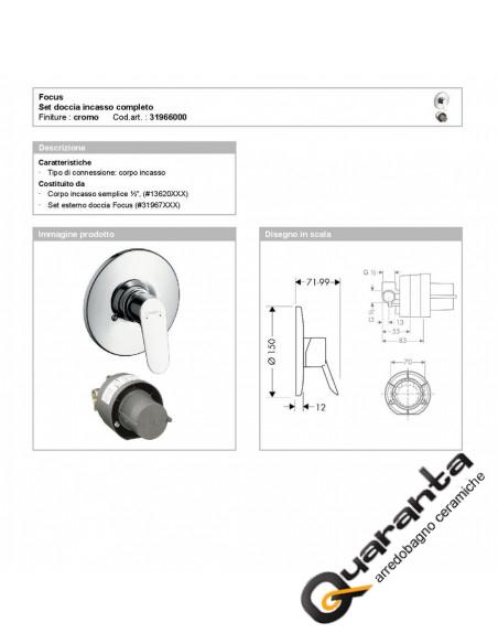 quaranta-ceramiche-doccia-incasso-focus-hansgrohe