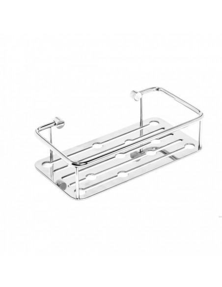 Cestello doccia singolo in acciaio inox Thin line