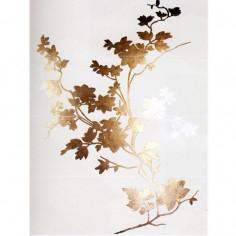 Marazzi Concreta Decoro Floreale Bianco 97,7x130