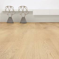 "Prefinished parquet Oak natural ""listone 140 naturplus2 country"" Listone Giordano"
