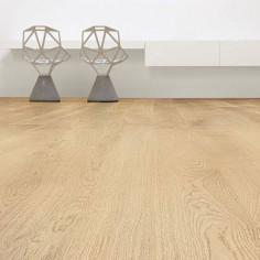 "Prefinished parquet Oak Natural ""listone 140 naturplus2 fibramix"" Listone Giordano"