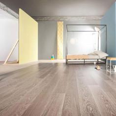 "Prefinished parquet Oak Michelangelo Creta ""listone 140 naturplus2 fibramix"" Listone Giordano"