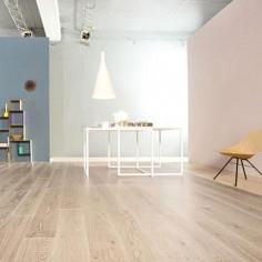 "Prefinished parquet Oak Michelangelo Cashmere ""listone 140 naturplus2 fibramix"" Listone Giordano"