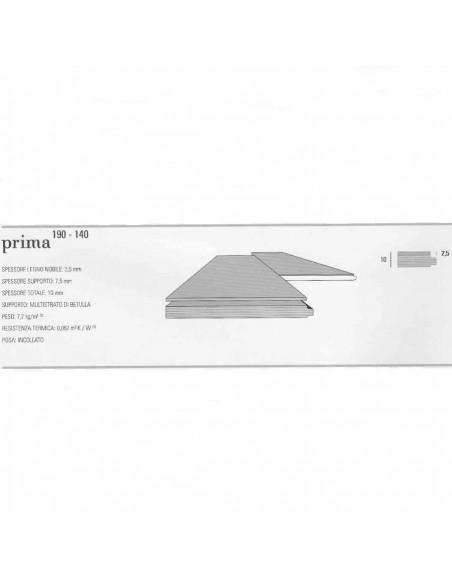 PRIMA 140 SMART NATURPLUS2 FIBRAMIX LISTONE GIORDANO ROVERE MICHELANGELO BIANCO ASSOLUTO