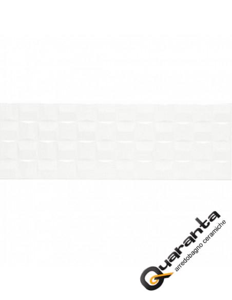 RIVESTIMENTO MARAZZI ABSOLUTE WHITE CUBE LUX 25X76