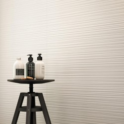 Marazzi Absolute White Struttura Fiber 3D Sat. 25x76