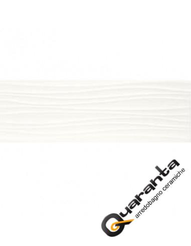 RIVESTIMENTO MARAZZI ABSOLUTE WHITE TWIST 3D SAT 25X76