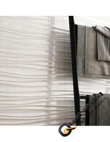 RIVESTIMENTO MARAZZI ABSOLUTE WHITE TWIST 3D LUX 25X76