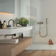 Marazzi Absolute White Soul White Gloss 25x76